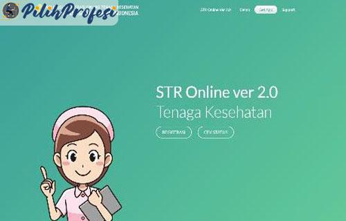 Cara memperpanjang STR secara Online