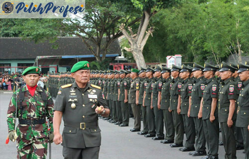 Gaji TNI AD Perbulan Berdasarkan Pangkat