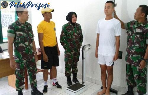 Syarat menjadi TNI AD