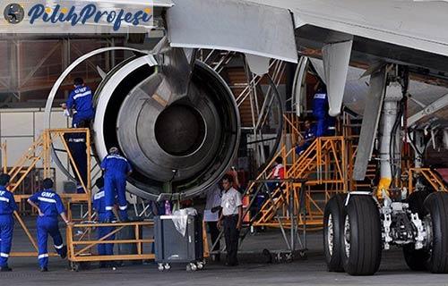 Gaji Teknisi Pesawat