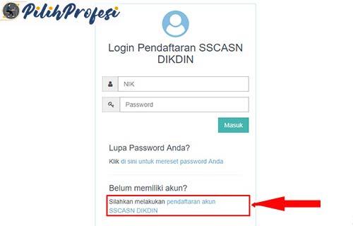 Cara Buat Akun Untuk Mendaftar