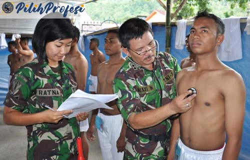 Persyaratan Diperlukan Daftar Tentara
