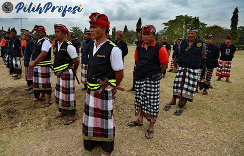 Tugas Polisi Adat Bali