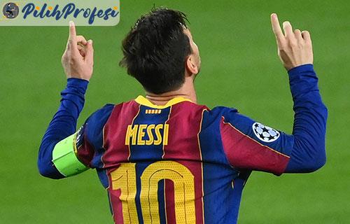 Gaji Messi Per Minggu