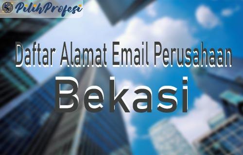 Daftar Alamat Email Perusahaan di Bekasi