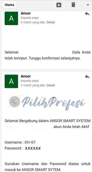 Cek Email Masuk
