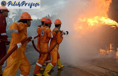 Gaji Pemadam Kebakaran Per Bulan Per Tahun