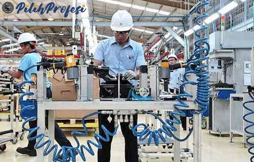 Tugas Operator Produksi Skill Gaji