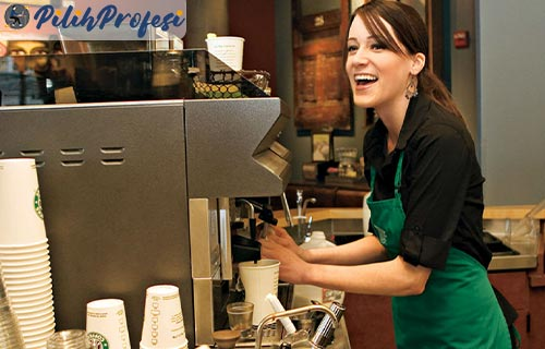 Gaji Barista Starbucks