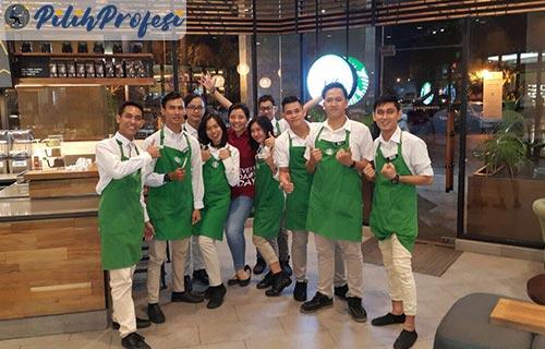Syarat Ketentuan Menjadi Barista Starbucks