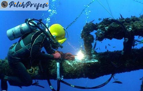 Pelatihan Khusus Welding Underwater