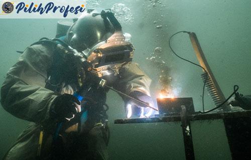 Tunjangan Welding Underwater