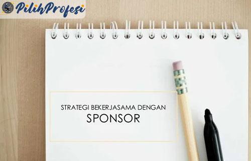 2. Tentukan Strategi Mendekati Sponsor